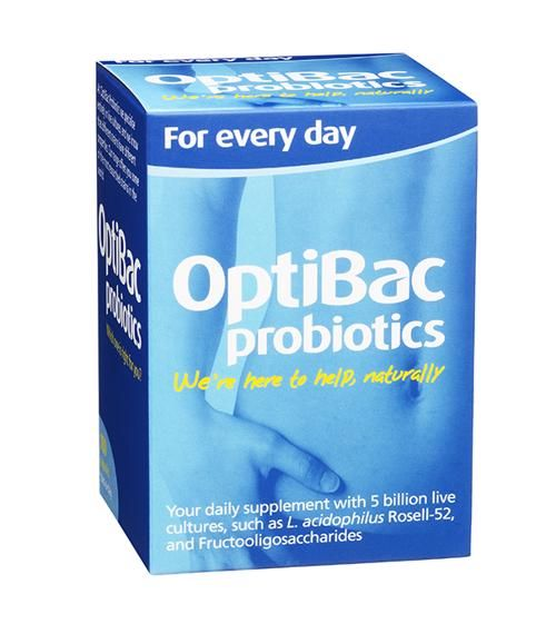 OptiBac Probiotics For Daily Wellbeing - 90 Capsules