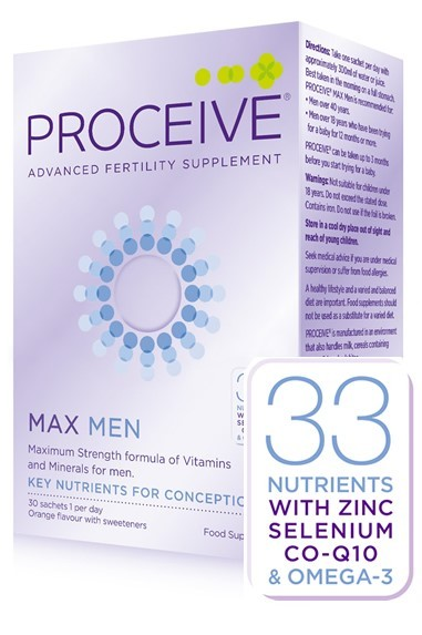 Proceive for Men Max (30 sachets) Was €58 now €46